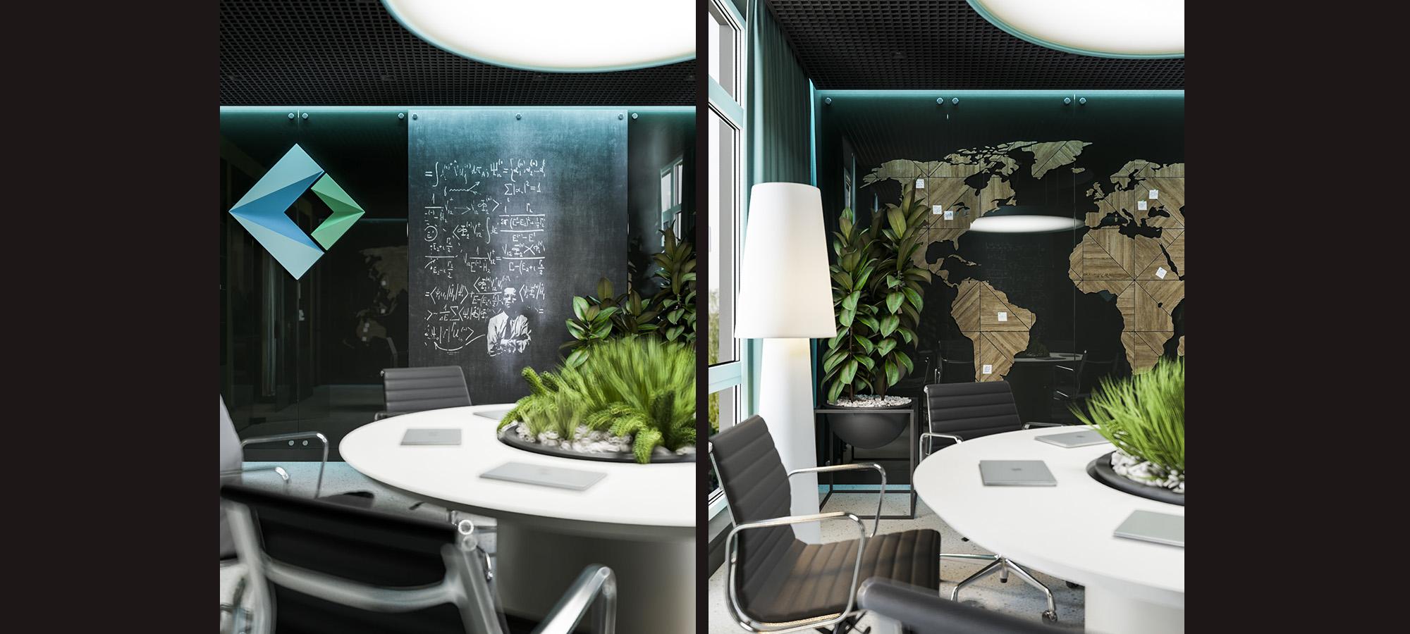 реализация проект-дизайна коммерческого помещения от АртСтройдом